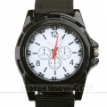 Military Style Quartz Sports Mens Black Wrist Watch New***