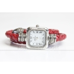 Fashionable Bracelet Jewellery Style Red Lady Watch NEW***