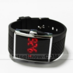 Red LED Lights Fashion Sports Digital Mens Wrist Watch****