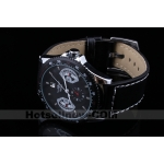 Black Dial Time Display Auto Mechanical Mens Watch Gift****