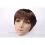2011 ladies clip in fringe hairpiece hair extension wig
