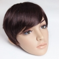 Clip side Bang Fringe Hair Wig Extension Cosplay Party