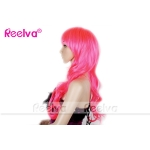 Women's Party Fashion Wavy Ladies Red Wigs