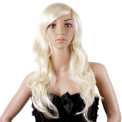 Long Honey Blonde Lady Fashion  Wigs/Wig