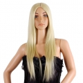 Women's Long Straight Lady Party Fancy Dress Wig