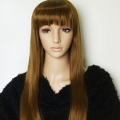 Amazing XXX Long Light Brown Fashion Vogue Wig Cosplay Hair