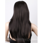Stunning Black Straight Hair Women's Health Wigs