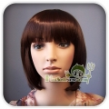 OVELY LIGHT BROWN STRAIGHT BOB  LADY  LADIES STYLE WIG!!
