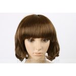 OVELY LIGHT BROWN WAVY LADY LADIES STYLE WIG