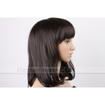 OVELY Black LADY LADIES STYLE WIG!!