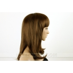 OVELY LIGHT BROWN LADY LADIES STYLE WIG!!