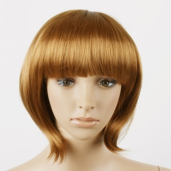 OVELY GOLD LADY LADIES NATURAL STYLE WIG