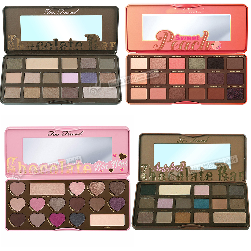 New Too Faced Sweet Peach Eyeshadow Palette Limited Edition 18 Colors Makeup Ebay